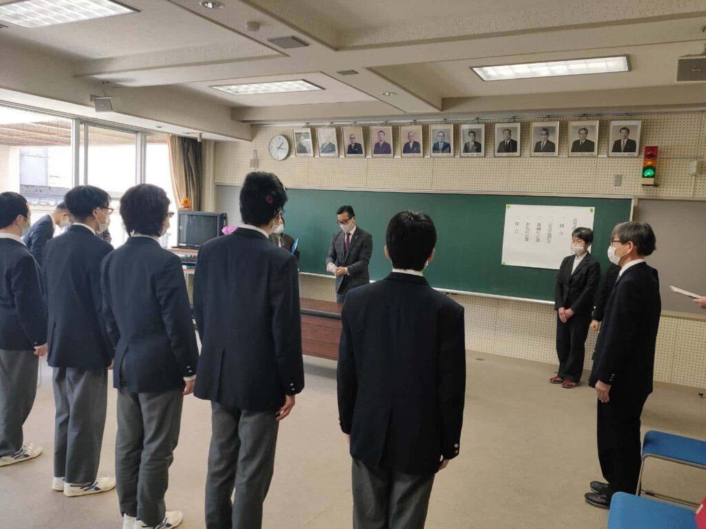 高岡志貴野ライオンズクラブ 高岡聴覚総合支援学校卒業生激励会