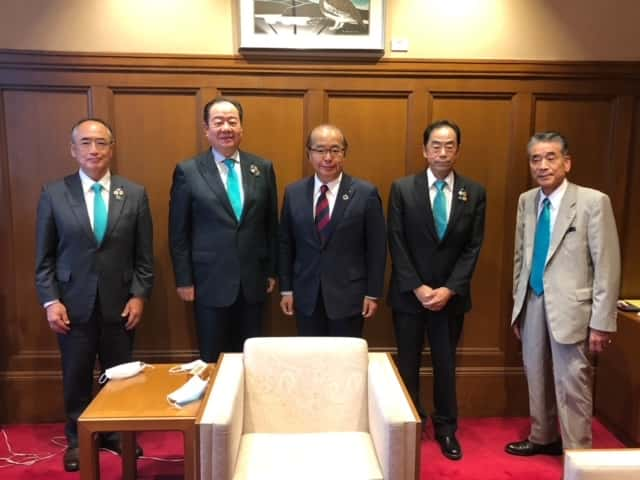 334-D地区キャビネット 富山県知事表敬訪問