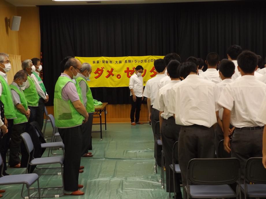 富山雷鳥ライオンズクラブ 薬物乱用防止教室を開催